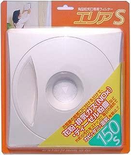 アルファー技研工業 換気口フィルター 角型 エリア150S