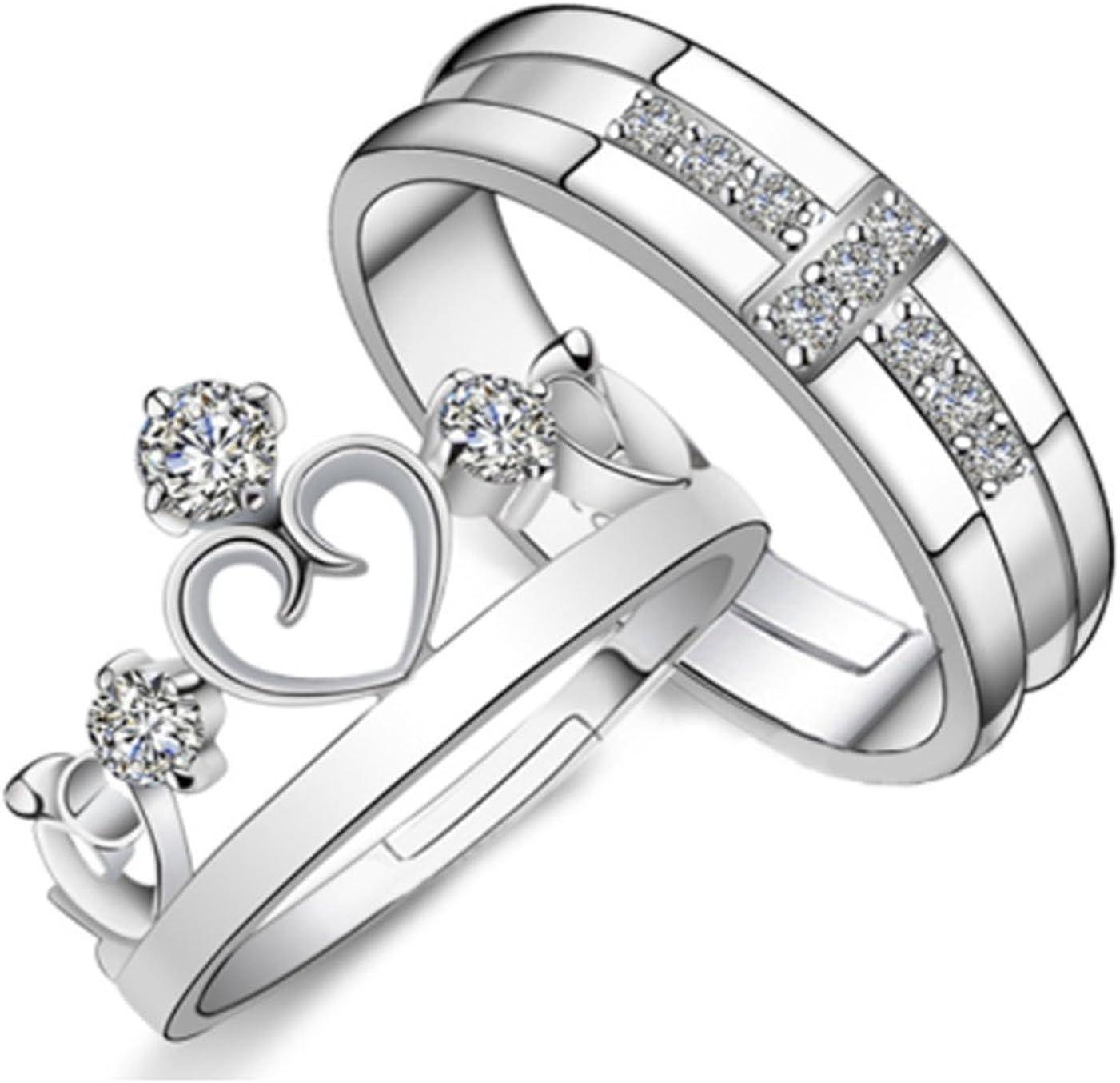Karatcart Women's Platinum Plated セール開催中最短即日発送 Elegant Couple King And ランキング総合1位 Queen