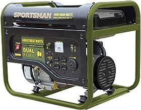 Sportsman 4,000/3,500-Watt Dual Fuel Powered Portable Generator with Generator Wheel Kit Assembly