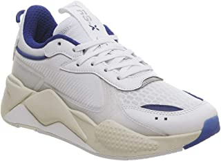 PUMA Womens RS-X Tech Trainers Sneakers in White/Whisper White.