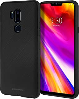 Goospery Style Lux Jelly for LG G7 ThinQ Case (2018) Thin Slim Bumper Cover (Black) LGG7-STYL-BLK