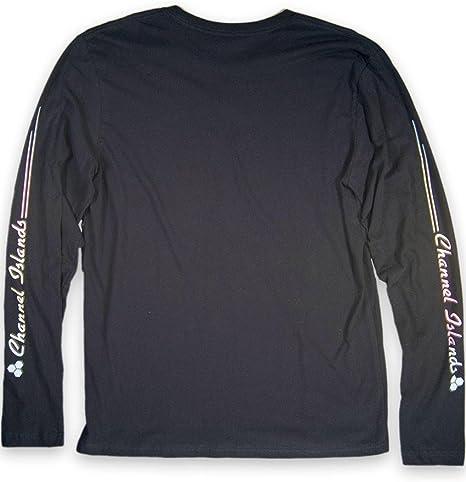 Large Channel Islands Surfboards Brazil Distressed Hex T-Shirt Black