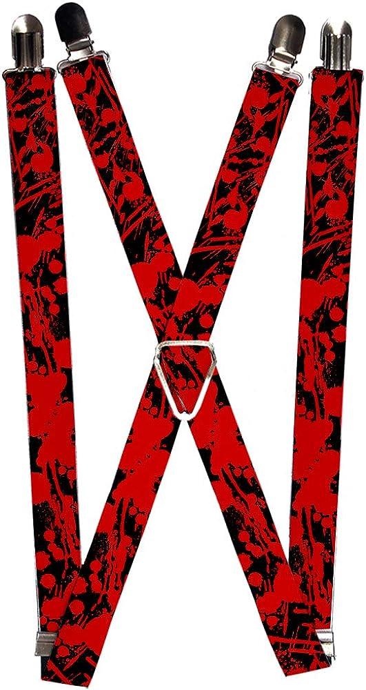 Buckle-Down Suspender - Paint Splatter