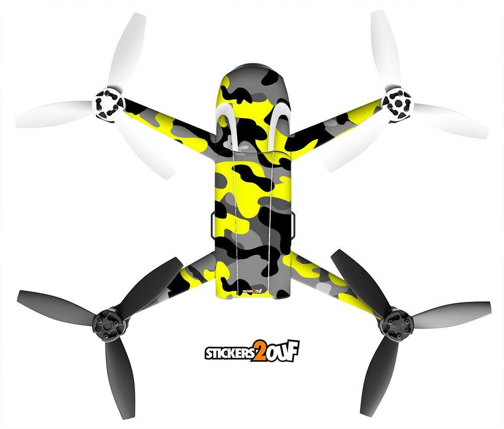 Stickers2ouf Pegatina para Drone Bebop 2, Color Amarillo: Amazon.es: Electrónica