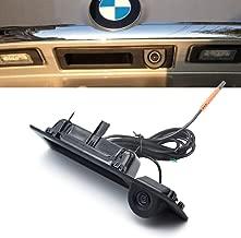 LIEBMAYA 170 degree Car Trunk Handle Backup Camera Rear View HD Camera Parking Backup Camera for BMW 5 F10, 5 F11, 3 F30, X3 Series F25
