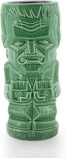 Geeki Tiki 18 Ounces Ceramic Mug   Frankenstein Monster Boris Karloff   Green