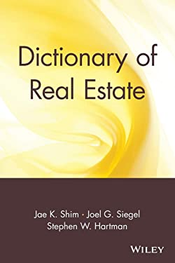 Dictionary of Real Estate: 11 (Business Dictionary Series)