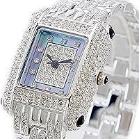 [ルイラセール]LOUIS LASSERRE レディース 天然ダイヤモンド ブルーシェル シルバー ステンレス LL04SV-D 腕時計 [並行輸入品]