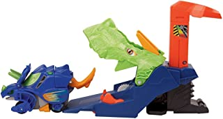 Vtech Switch & Go Dinos Turbo - Triceratops Deluxe Launcher [80150103] - Blue