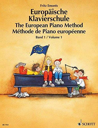 Europäische Klavierschule, Bd.1: Band 1. Klavier.
