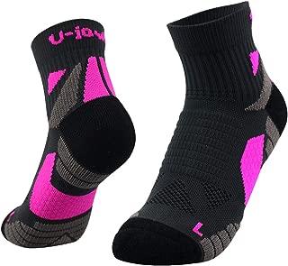 Running Socks Wicking Blister Resistant Ankle Athletic Socks for Men and Women