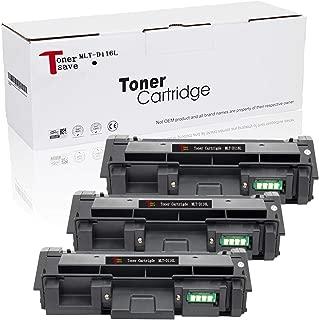Tonersave Compatible Sumsung D116L MLT-D116L Toner for Samsung Xpress M2885FW SL-2875FW M2835 SL-2875 SL-2875 SL-2676 SL-M2625 SL-M2625D SL-M2626d SL-M2825fd 3 Pack
