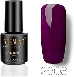 DressLksnf Esmalte de Uñas Moda para Mujer Esmalte Gel Original Elegante Esmalte Permanente Esmalte Endurecedor para Uñas ...