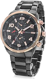 Curren Casual Watch For Men Analog Stainless Steel - 8276