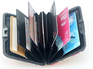 RFID Blocking Credit Cards Holder Business Cards Case Aluminum Cards Wallet ID Case for Men Women