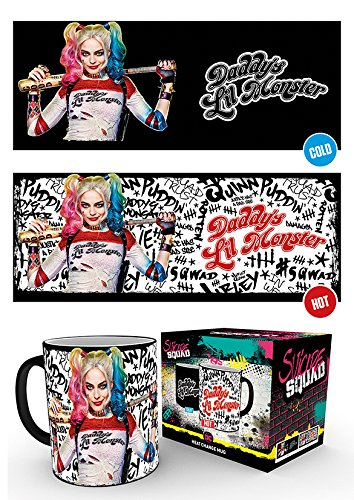 Suicide Squad  Daddys Lil Monster Heat Change Mug