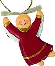 Guru-Shop Ángeles Guardianes, ángeles de Navidad, Adornos Para árboles de Navidad - 1 en 4 Colores, Rojo, Color: Rojo, 7x5x1 cm, Decoración Navideña