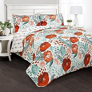 Lush Decor Poppy Garden Quilt Set Full/Queen Multicolor (B079YBDDTY) | Amazon price tracker / tracking, Amazon price history charts, Amazon price watches, Amazon price drop alerts