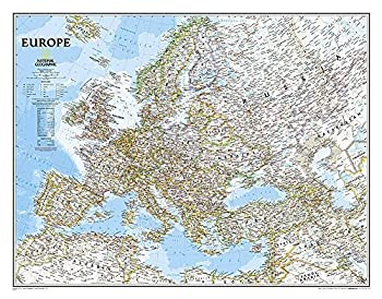 Europe Classic [Laminated]  National Geographic Reference Map  by National Geographic Maps - Reference  2014-11-12