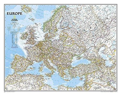 Europe Classic [Laminated] (National Geographic Reference Map) by National Geographic Maps - Reference (2014-11-12)
