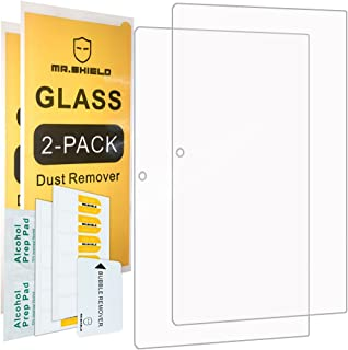 [2-Pack]-Mr.Shield for Lenovo Ideapad MIIX 320 [Tempered Glass] Screen Protector [0.3mm Ultra Thin 9H Hardness 2.5D Round Edge] with Lifetime Replacement