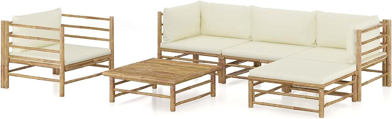 Max 62% OFF KA Company Outdoor Furniture Long Beach Mall Set wit Piece 6 Garden Lounge