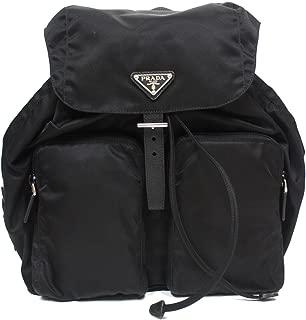 prada black tessuto wallet