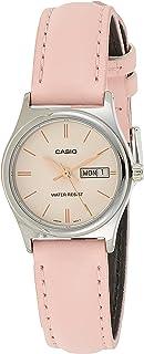 Casio Womens Quartz Dress Watch, Analog and Leather- LTP-V006L-4BUDF
