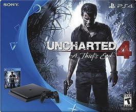 PlayStation 4 - 1TB Slim - Uncharted 4 - 2 DualShock 4 Controller