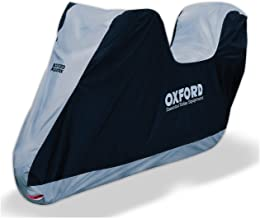 Funda Protectora para Moto de Oxford Aquatex, Color Azul, XL