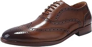 کفش توری چرمی اصل الاورمان مردانه ELANROMAN آکسفورد
