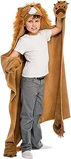 Fin Fun Roary Lion Wearable Hooded Blanket by Wild Things