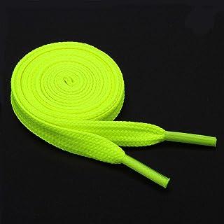 RENNICOCO 1/Paire Plat Lacets Lacets Sports d/écontract/é Lacets de Chaussures 120/cm de Long