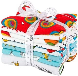 Robert Kaufman Fabrics Oh The Places You'll Go Fat Quarter Bundle Dr Seuss for Robert Kaufman, Assorted
