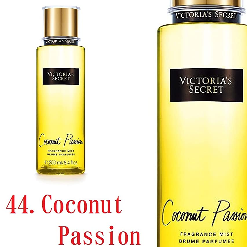 迷彩急性大腿Victoria's Secret Fantasies フレグランスミスト ヴィクトリアシークレット (44.ココナッツパッション) [並行輸入品]