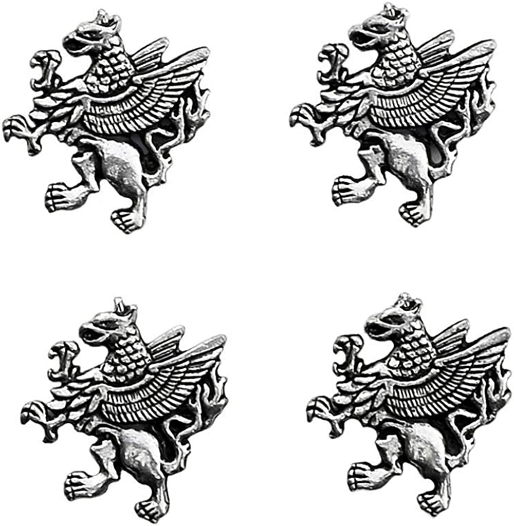 Quality Handcrafts Guaranteed Griffin Tuxedo Studs