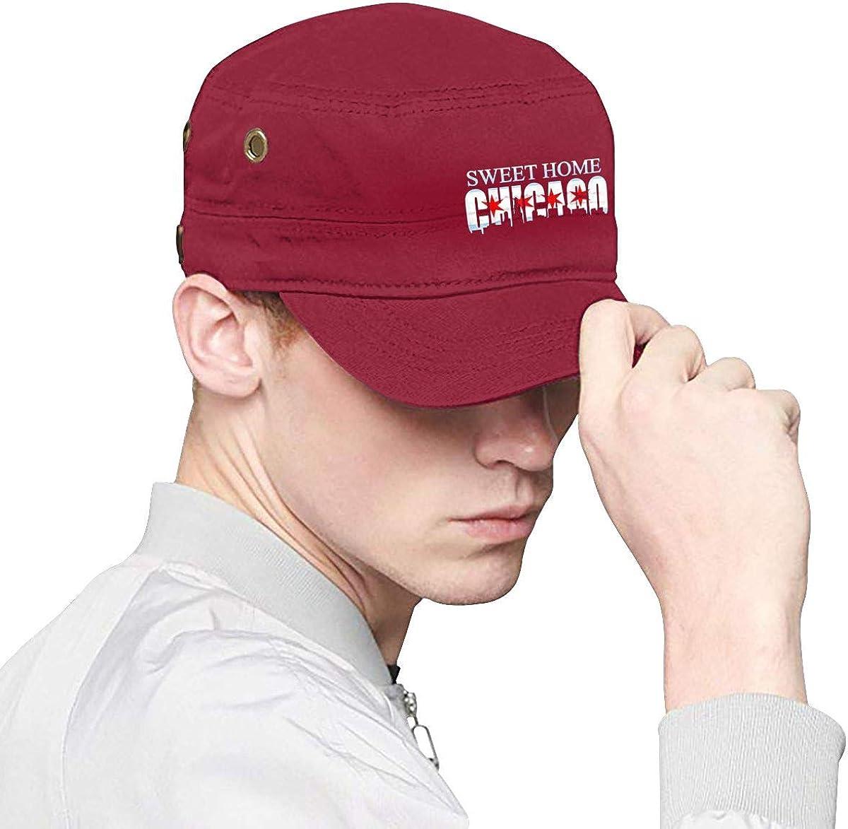 Chicago Flag Skyline Boy Classics Cap Woman Fashion Hat Chapeau