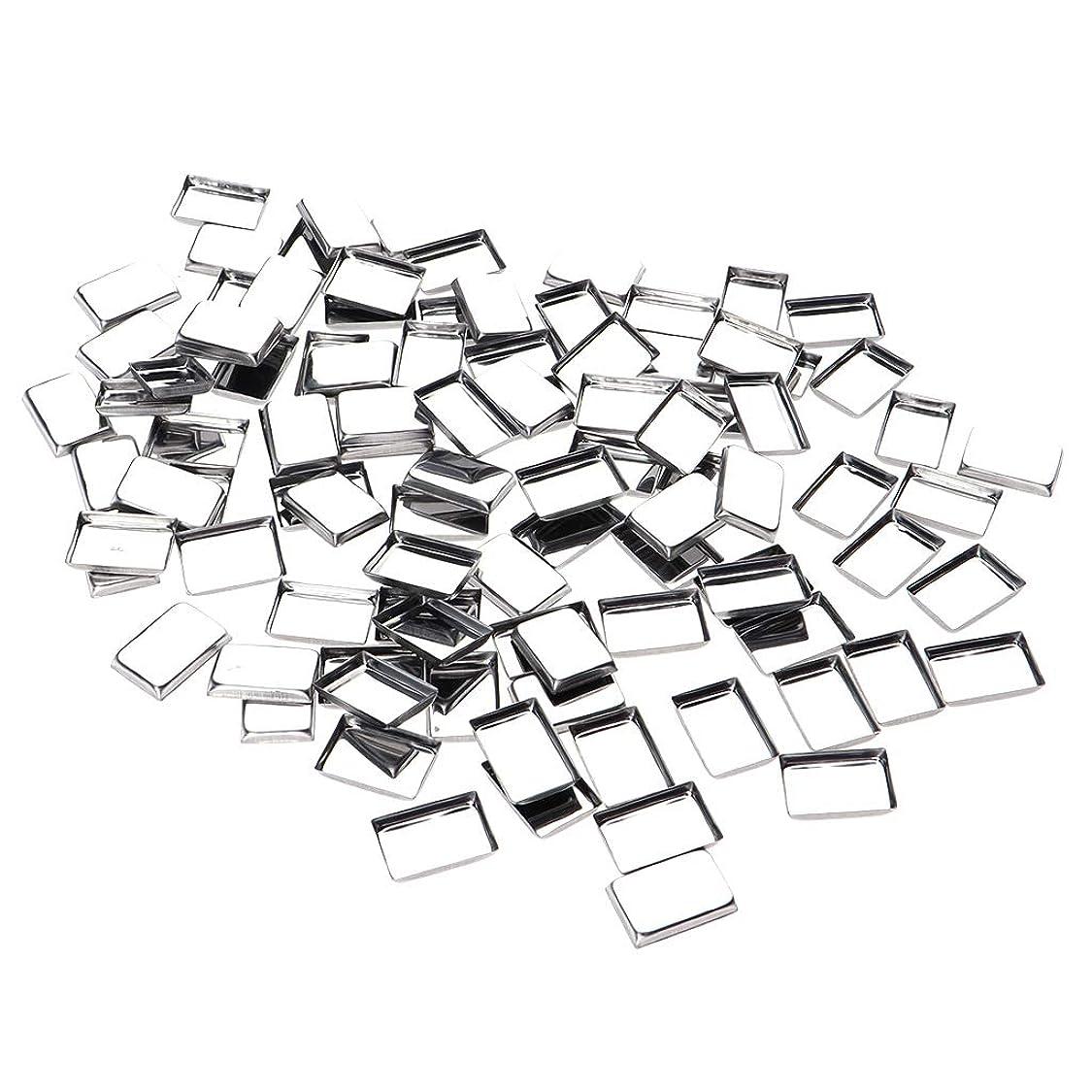 技術者呼び起こすありがたいP Prettyia 約100個 メイクアップパン 化粧パレット DIY 口紅 お化粧 3タイプ選べ - リタングル