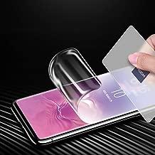 AICase Screen Protector for Galaxy S10 Plus, [Soft Hydrogel Aqua Flex ][HD Ultra Clear] [Case Friendly][Full Screen Coverage] Anti Fingerprint Screen Cover for Samsung Galaxy S10+