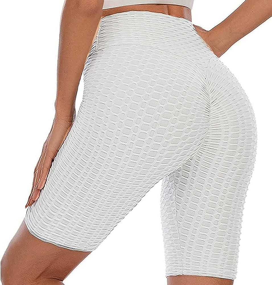Daily bargain sale Lushforest Women High Waist Butt Cellul Yoga Sale price Anti Lifting Shorts