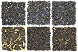 Fruit-Tea Summer Tea Sampler, Refreshing Loose Leaf Tea Assortment Featuring Blackberry, Vanilla,...