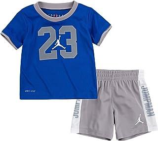 طقم تي شيرت وسروال قصير قصير للأولاد من Jordan Infant Boys Michael Sportswear