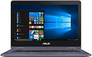 "ASUS VivoBook Flip Laptop, 11.6"" Touch Screen, Intel Pentium, 4GB Memory, 128GB Solid State Drive, Windows 10 Home in S Mo..."
