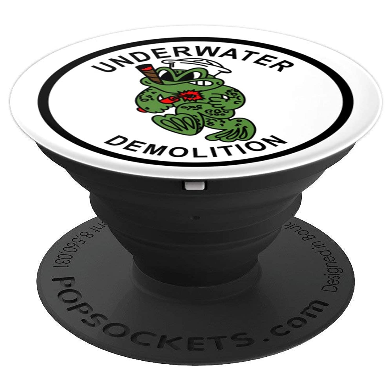 UDT Frogman Pop Socket - PopSockets Grip and Stand for Phones and Tablets