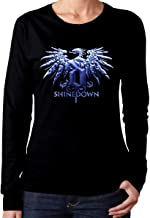 RobertJ.Rivera Woman's Shinedown Classic Music Band Fans Long Sleeves Tee Black Gift