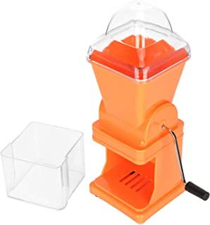 Vegetable Mincer, Multi‑Functional Vegetable Crusher, Easy To Use for Kitchen Making Meatballs(orange)
