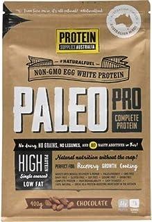 Protein Supplies Australia PaleoPro Egg White Protein Powder, Chocolate 400 g, Chocolate, 400 g
