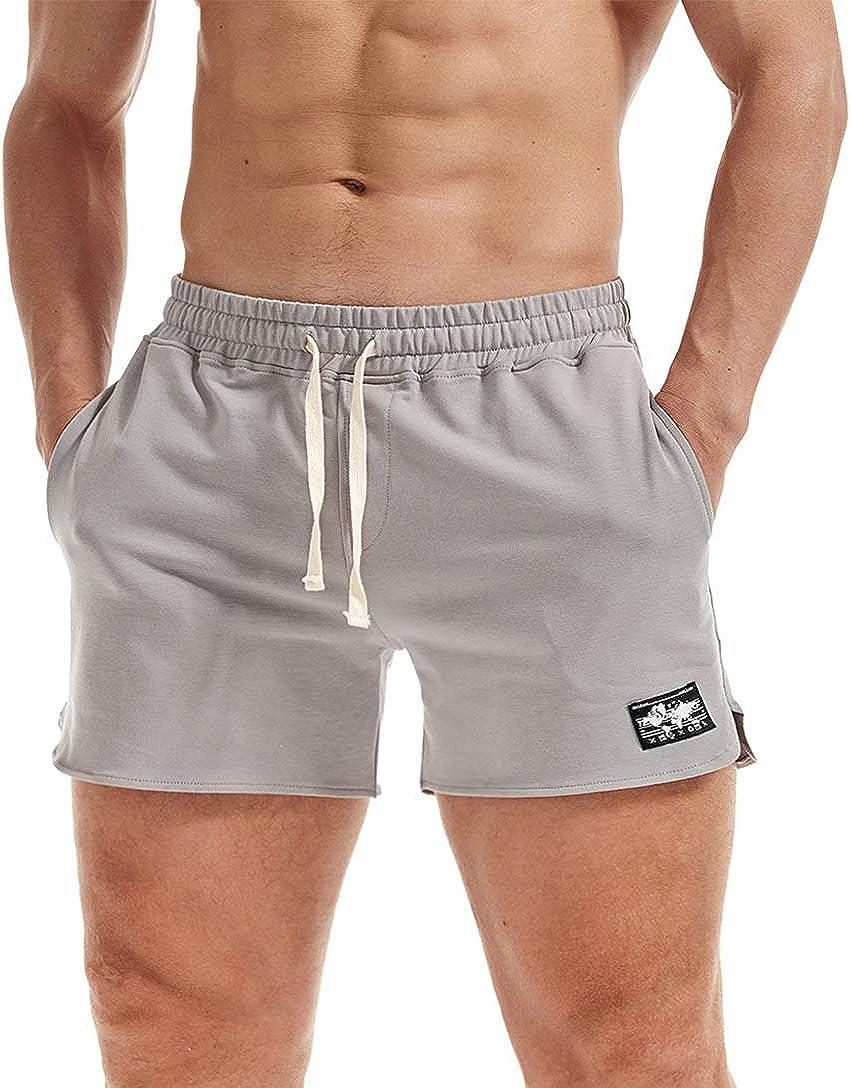 AIMPACT Mens Workout Sweat Max 54% OFF Runnin Drawstring Bodybuilding Shorts Free shipping