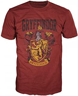 Harry Potter Gryffindor Mens Red T-Shirt