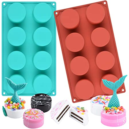 Silicone Soap Mould Cake Cookies Candle Mold Craft Baking Pan Tray Mold Mult^/&*